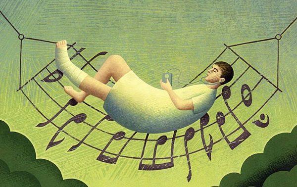 Cuidar ao som da música