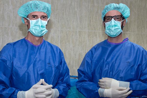 A nossa equipa de Urologia