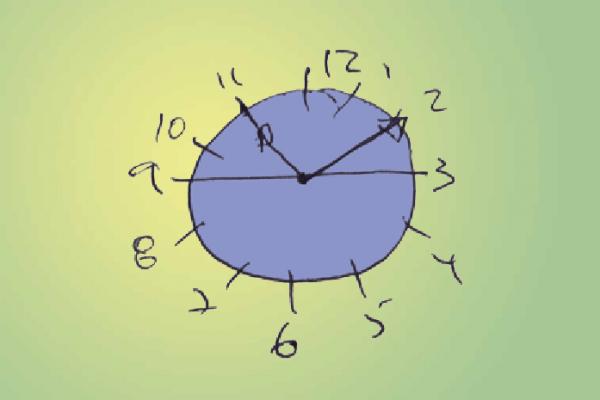 A marca da demência nos relógios do tempo